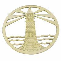 Topf-Untersetzer - Leuchtturm