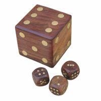 Dice-shape box
