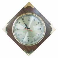 Clock in wood