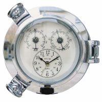 Clock, Thermo- & Hygrometer
