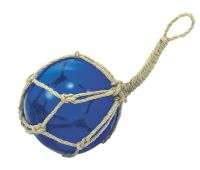 Fishermens glass ball in net