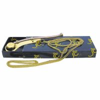 Boatswains whistle with chain