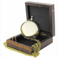 Kompass in Taschenuhrform