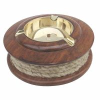 Ashtray with rope