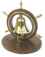 Desk bell in ship wheel