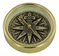 Compass with 3D-windrose