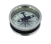 Compass with plane-dial