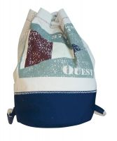 Backpack small with flagg OUEST
