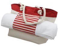 Strand-Tasche mit Badetuchhalter